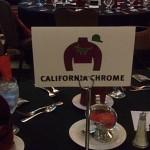 California Chrome table at dinner