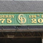 2012 Kentucky Derby sign