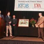 KTA TOBA awards for trainer H. Graham Motion