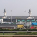 Churchill Downs from backside