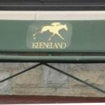Keeneland_bench
