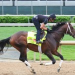 Derby workout for Commanding Curve
