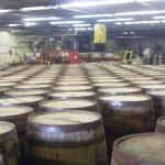 All those barrels of Bourbon