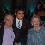 Secretariat crew with winning jockey Mario Gutierrez