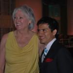 Galt House Mary Moseley with Mario Gutierrrez