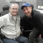 Secretariat jockey Ron Turcott & Leonard Lusky