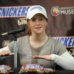 JJockey Rosie Napravnik & Snickers