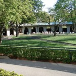 Paddock at Keeneland Race Course