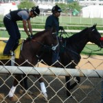 Kentucky Derby winner I'll Have Another workouts