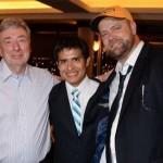 Derby winners - owner Paul Reddam, jockey Mario Gutioerrez & trainer Doug O'Neill