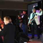 Randy Owens entertains at Unbridled Eve