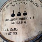 Woodford Reserve barrel