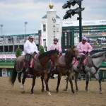 Outriders in pink