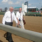 Derby oddsmaker Mike Battaglia passes our boxes