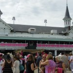 Lots of pink for Oaks Day