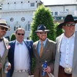 Many men wear hats too!