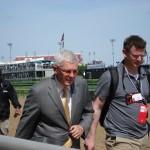 Odds maker Mike Battaglia on the track
