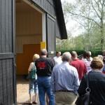 Claiborne Farm's famous breeding shed