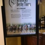Tour Itinerary in Lobby