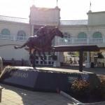 Barbaro Statue