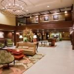 Crowne Plaza Hotel lobby