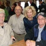 Tour members meet jockeys Ron Turcotte & Pat Day at breakfast
