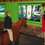 Jockey ride exhibit