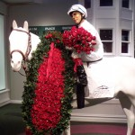 Kentucky Derby Museum waiting to paing exhibit horse the winners colors