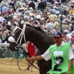 Woodford Reserve winner back to barns