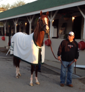 California Chrome with Alan Sherman