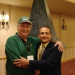 Billy Reed with author Rudy Alvarado at our Kentucky Oaks Breakfast
