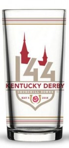 2018 Kentucky Derby Glass FRONT ONLY