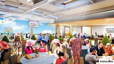 Churchill Downs To Add Starting Gate Suites For 2019 Derby