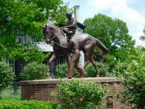 Secretariat statue at Kentucky Horse Park